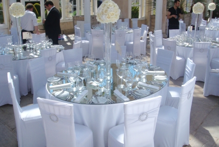 Mirrored Table Tops