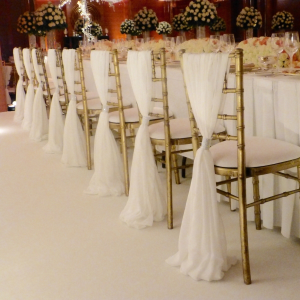 Grecian Drape Wedding Lounge