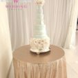 Sequin cake table cloth