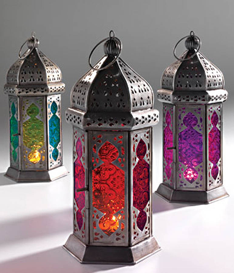 Moroccan Lantern Set Wedding Lounge