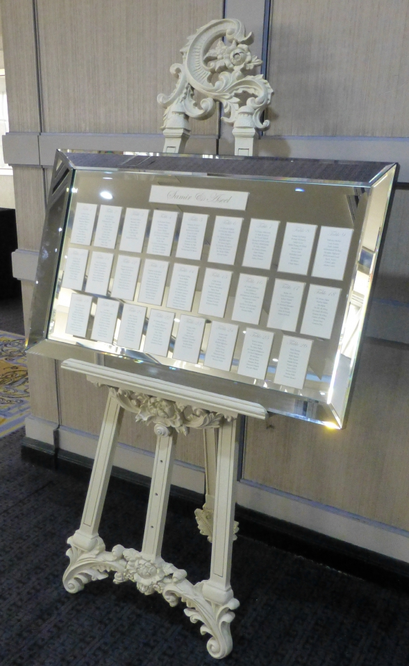 Bevelled Mirror And Heavy Duty Easel