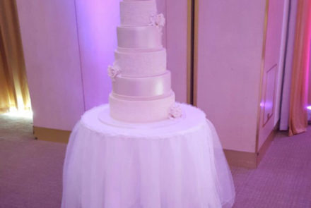 Netted Cake Table Skirt