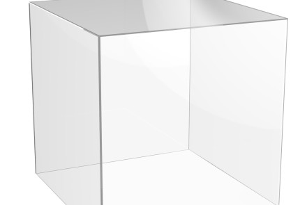Ghost cube cake table
