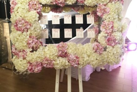 Flower table plan