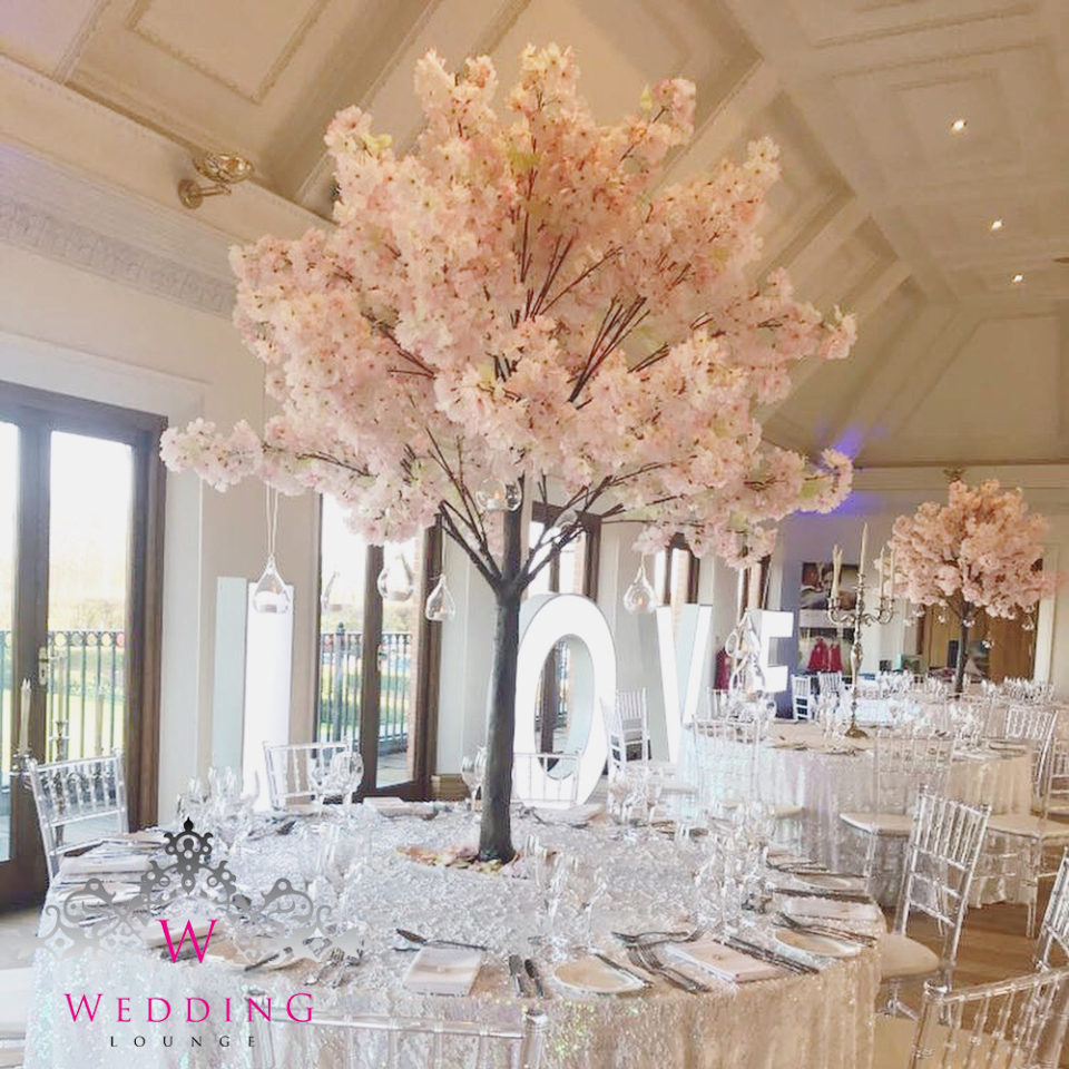 Sakura Blossom Tree Wedding Lounge