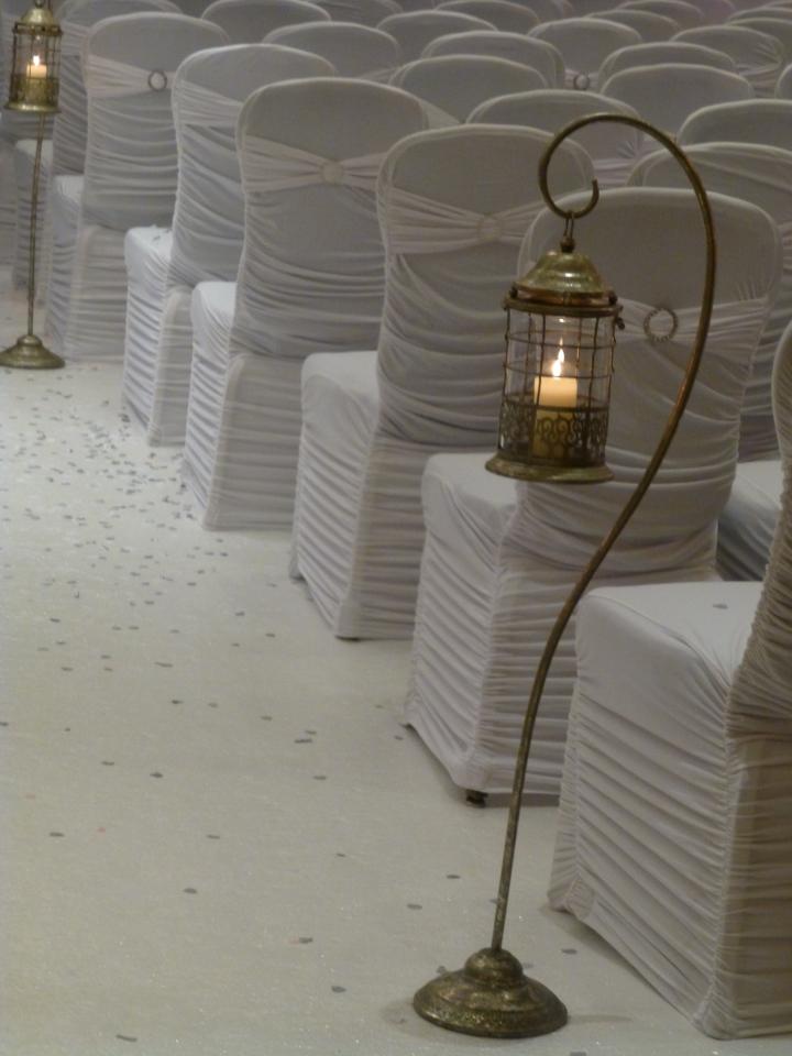 Completely new Floor Standing Lanterns - Wedding Lounge NU47